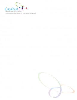Catalyst letterhead