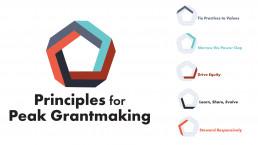 Priniciples for Peak Grantmaking Logo