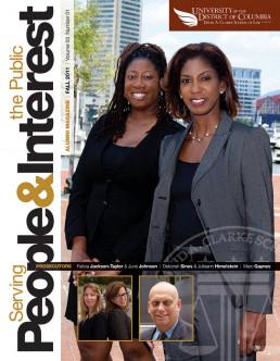 UDC Law School Alumni magazine cover